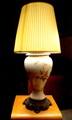 Reading lamp.
