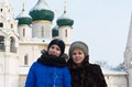 Grandmother and granddaughter - Russia