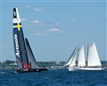 America cup trials Newport