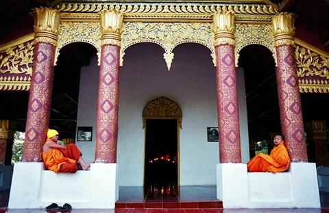 Monks Relaxing