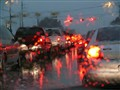 Rainy Car Lights