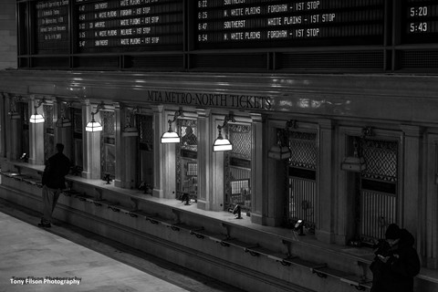 Grand Central Station Ticket Windows in New York City