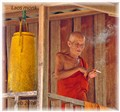 Monk in Laos