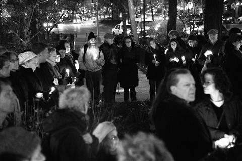 Candlelight Vigil - Strauss Park