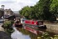 Narrowboat in Skipton