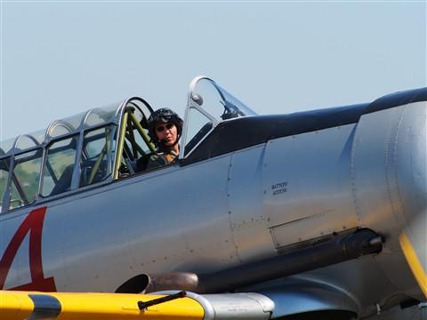 T6 Texan/Harvard at Duxford Airshow 2012