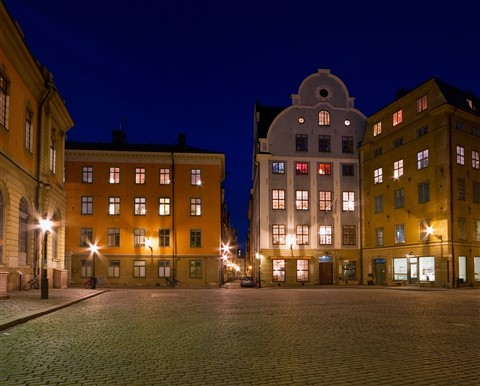 Old Town square at night 2