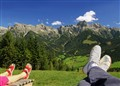 Relaxing in the Alps