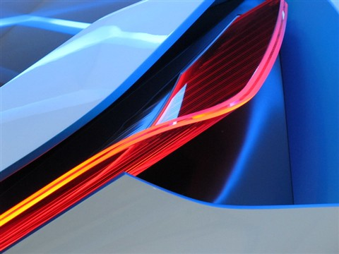 BMW vision tail light