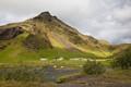 Landscape near Skogar, Iceland