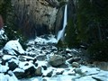 A forceful waterfall