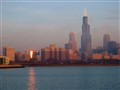 Chicago Skyline Morning
