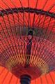 Red Japanese Umbrella
