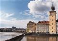 Afternoon on the Vltava, Prague Crop