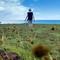Walking on Easter Island/
