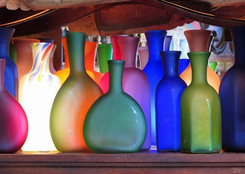 Artisan Glassware - Puerto Vallarta