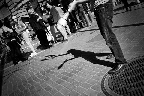 Juggler's Shadow