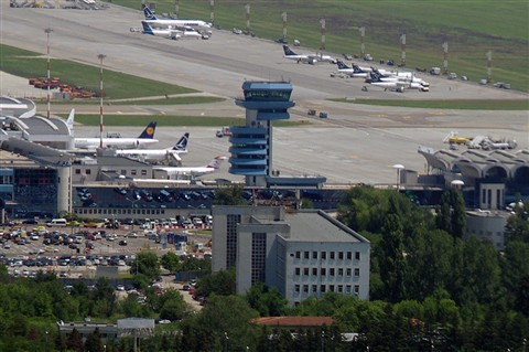 Henri Coanda International Airport Tower - Bucharest