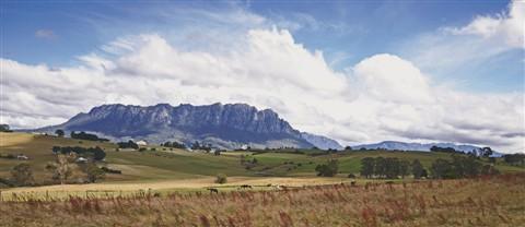 View of Cradle Mountain, TAS