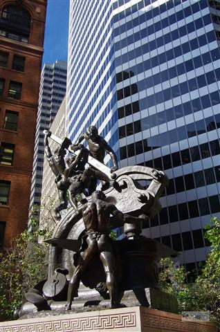 SF - Downtown Statue P3201r