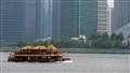 Shanghai, Huang  Po River, Floating Restaurant