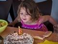 Her third birthday