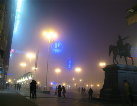 Icons in the fog