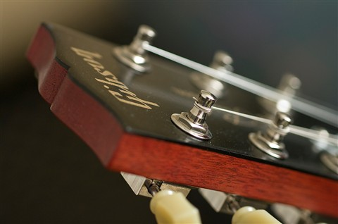 Gibson LP Headstock Side