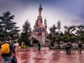 The image was captured just after the rain.Even now as  I look at this image,my memories of the Disneyland is refreshed.