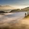 Fog and sun at Alpe di Siusi