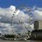 London Eye #3 - from neaby bridge