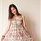 _DSC0020 Print dress long
