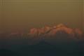 Mont Blanc from col de la faucille