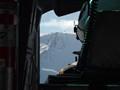 Ascending Erebus Volcano.  Ross Island, Antarctica