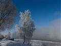 Volga in mist