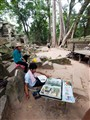 Artist at Angkor