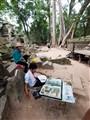 Artist at Angkor