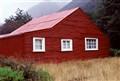 Red iron hut
