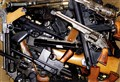 Plethora of handguns