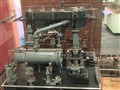 working model marine triple-expansion steam engine