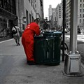 Garbage cleaner in NYC
