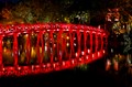 Bridge at Hoan Kiem lake - Hanoi VIETNAM