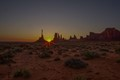 Sunrise at The Totem, Monument Valley, Arizona