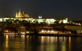 Old Prague by night