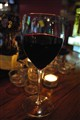 merlot at the sports bar