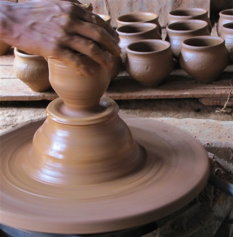 Clay potters