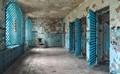Abandoned jail doors