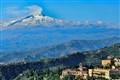 Taormina Etna Erupting
