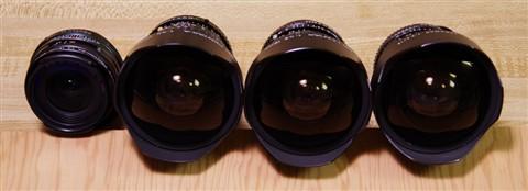 Pentax 15mm Lenses - front