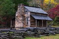 Cabin in Cades Cove (Smoky Mountains)